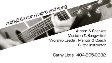 Business Card Cathy template