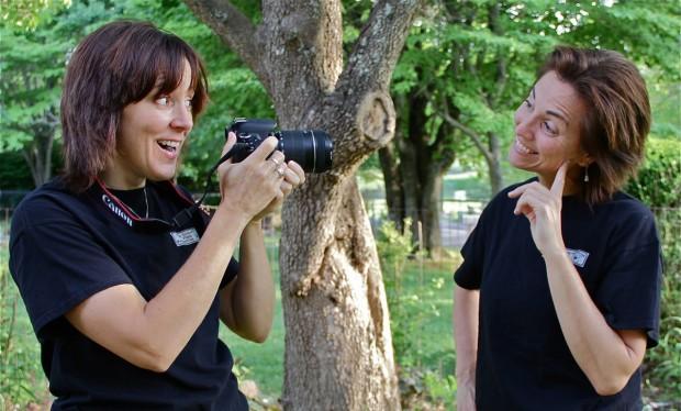 Melinda Wilson and Cathy Little